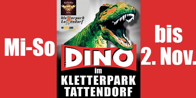 Kletterpark . Dinosaurier – wieder geöffnet
