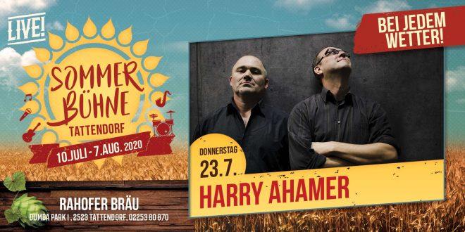 Do. 23. Juli – Harry Ahamer Acoustic Duo