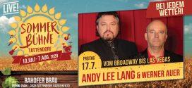 Fr. 17. Juli – Andy Lee Lang & Werner Auer