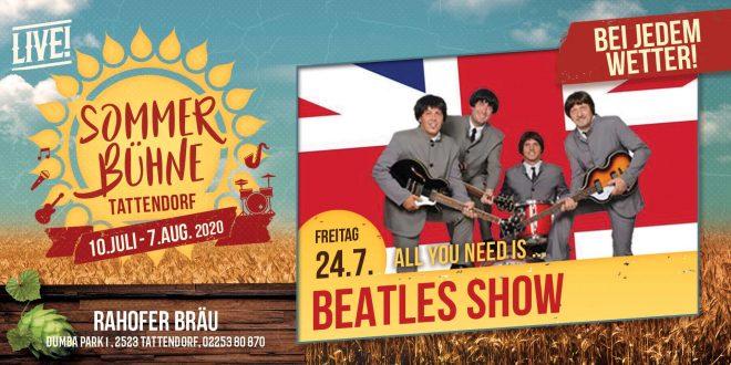 Fr. 24. Juli – Beatles Show