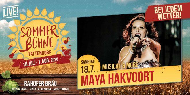 Sa. 18.Juli – Maya Hakvoort MUSICAL & More