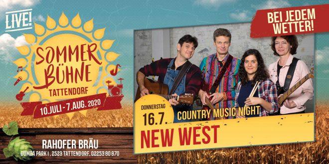 Do. 16. Juli – New West