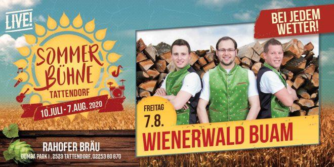 Fr. 7. Aug. – Wienerwald Buam